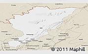 Classic Style Panoramic Map of Tanguieta