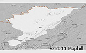 Gray Panoramic Map of Tanguieta