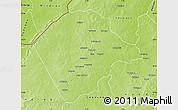 Physical Map of Banikoara