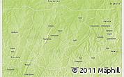 Physical 3D Map of Bembereke