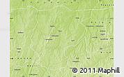 Physical Map of Bembereke