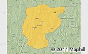 Savanna Style Map of Bembereke