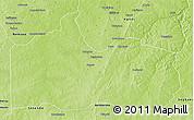 Physical 3D Map of Gogounou