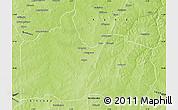 Physical Map of Gogounou