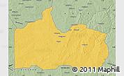 Savanna Style Map of Gogounou