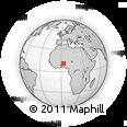 Outline Map of Gogounou