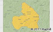Savanna Style 3D Map of Kandi