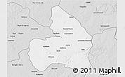 Silver Style 3D Map of Kandi