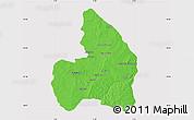 Political Map of Kandi, cropped outside