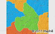 Political Map of Kandi