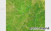 Satellite Map of Kandi
