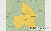 Savanna Style Map of Kandi