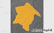 Political Map of Karimama, darken, desaturated