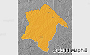 Political Map of Karimama, desaturated