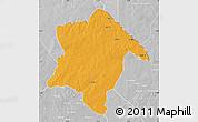 Political Map of Karimama, lighten, desaturated