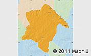 Political Map of Karimama, lighten