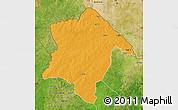 Political Map of Karimama, satellite outside