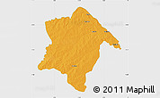 Political Map of Karimama, single color outside