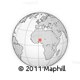 Outline Map of Malanville