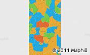 Political Map of Borgou