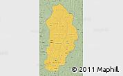 Savanna Style Map of Borgou