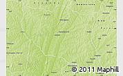 Physical Map of Ndali