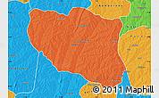 Political Map of Ndali