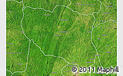 Satellite Map of Ndali