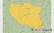 Savanna Style Map of Ndali