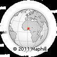 Outline Map of Borgou