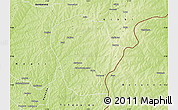 Physical Map of Perere