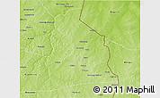 Physical 3D Map of Segbana