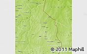 Physical Map of Segbana