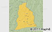 Savanna Style Map of Segbana
