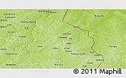 Physical Panoramic Map of Segbana