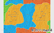 Political Map of Sinende