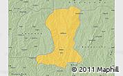 Savanna Style Map of Sinende
