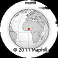 Outline Map of Sinende