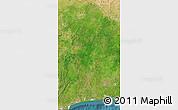 Satellite Map of Benin