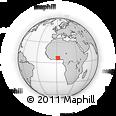 Outline Map of Toviklin