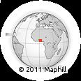 Outline Map of Adjohoun