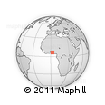 Outline Map of Avrankou