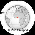 Outline Map of Bonou