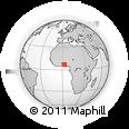 Outline Map of Ikpinle (Adja-Ouere)