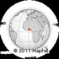 Outline Map of Porto Novo