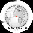 Outline Map of Seme-Kpodji