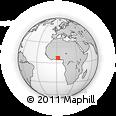 Outline Map of Agbangnizoun