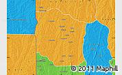Political Map of Bante