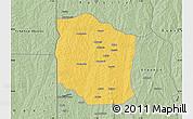 Savanna Style Map of Bante