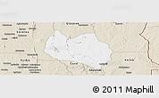 Classic Style Panoramic Map of Dassa